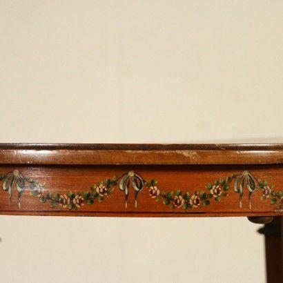 Tavolino Tondo Inglese.Tavolino Tondo Inglese Particolare Bottega Del 900
