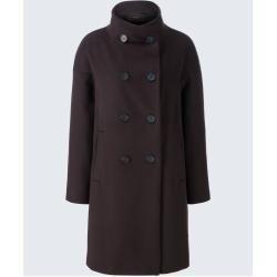 Oversize Coat With Cashmere In Dark Brown Windsor In 2020 Women Oversized Coat Autumn Fashion Oversized Coat