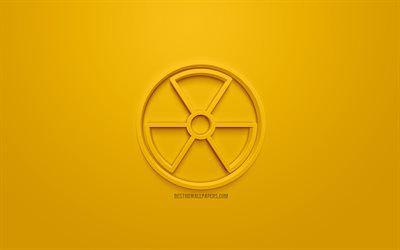 تحميل خلفيات المشعة التوقيع الخطر الرمز النووية رمز 3d الإشعاع علامة تحذير خلفية صفراء 3d الرموز النووية الإبداعية الفن 3d الرموز 3d النووية التوقيع ع Animated Gif Animation Gif