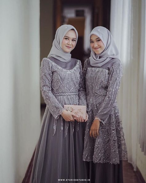 Hijab Prom Dress, Dress Brukat, Kebaya Dress, Dress Pesta, Batik Dress, Dress Outfits, Fashion Outfits, Kebaya Modern Hijab, Modern Hijab Fashion