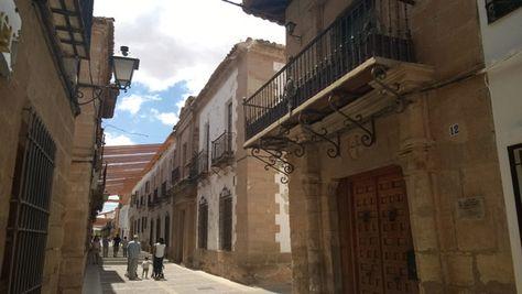 Villanueva De Los Infantes Road Structures Alley