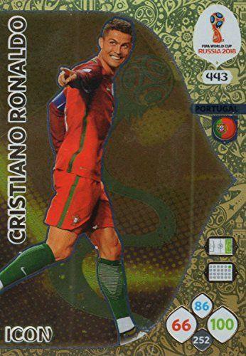 PANINI ADRENALYN COUPE DU MONDE 2010 Portugal Cristiano Ronaldo carte