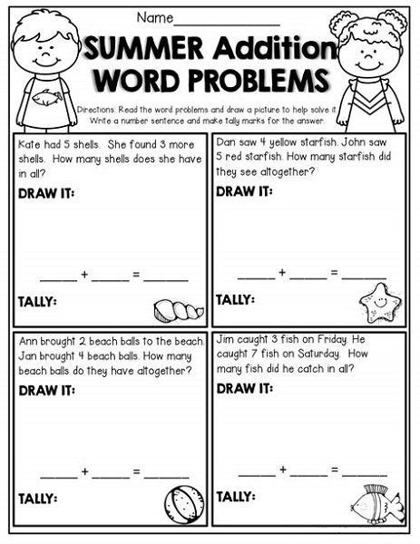 Free Printable Worksheets For Second Grade Math Word Problems Addition Words Word Problem Worksheets Subtraction Word Problems