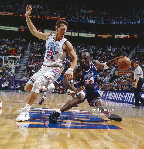 4f2f6f89abd Dan Majerle and Michael Jordan | basket | Sportif