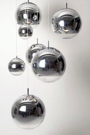 inspiración Dixon de Ball en Tom Suspensión Lámpara Plata xthsrdBQC
