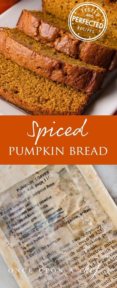 Pumpkin Bread Recipe Pumpkin Bread Pumpkin Recipes Baking