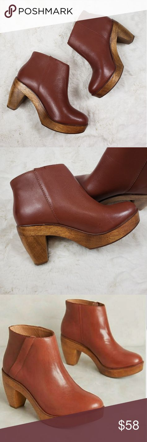 1129e482e73 Kelsi Dagger Brooklyn Atena Platform Bootie Great gently used condition  Real wood heel 70s Look 100