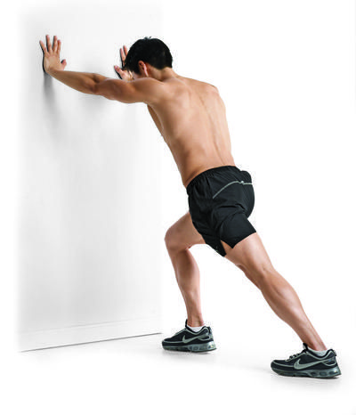 23+ Calf stretch against wall inspirations