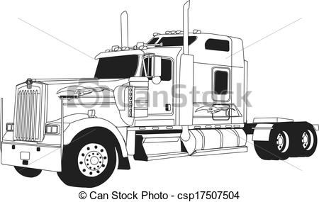 Found On Bing From Www Canstockphoto Fr Trucks Transfer Truck Kenworth