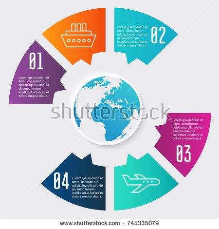 Vector colorful info graphics for your business
