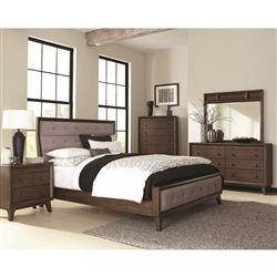 Bingham 6 Piece Bedroom Set In Brown Oak Finish By Coaster B259 Bedroom Furniture Sets Wood Bedroom Sets King Bedroom Sets