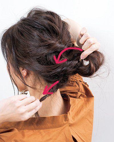 リボン結びでヘアアクセサリーパーツになっているものはたくさんある