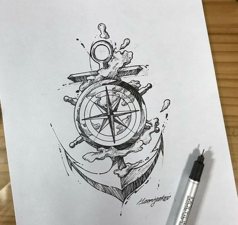 Ink pen #pro- Ink pen #pro  Ink pen #pro  -#anchorandCompassTattooIdeas #CompassTattooIdeaswithflowers #feminineCompassTattooIdeas #moralCompassTattooIdeas #smallCompassTattooIdeas
