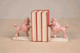 Poodle Bookends, these would be great for holding up my sewing books!