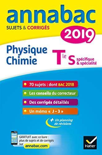 Lire Annales Annabac 2019 Physique Chimie Tle S Sujets Et Corriges Du Bac Terminale S En Ligne And Telecharger In Pdf Txt In 2021 Book Review Blogs Math Good Books