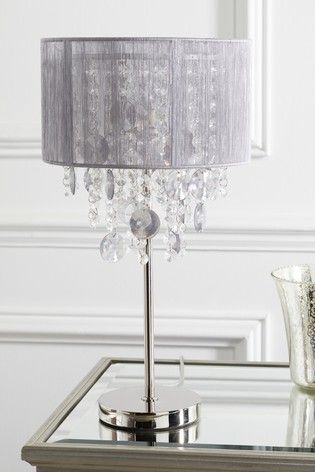 Palazzo Table Lamp Lamp Led Ceiling Light Fixtures Grey Table Lamps