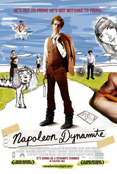 """Napoleon Dynamite"" An often times 'oniony', tear-gas jerker. A trombone to the humping sprocket."