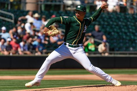 Jesus Luzardo makes strong case for A's rotation in final Cactus League start | theScore.com
