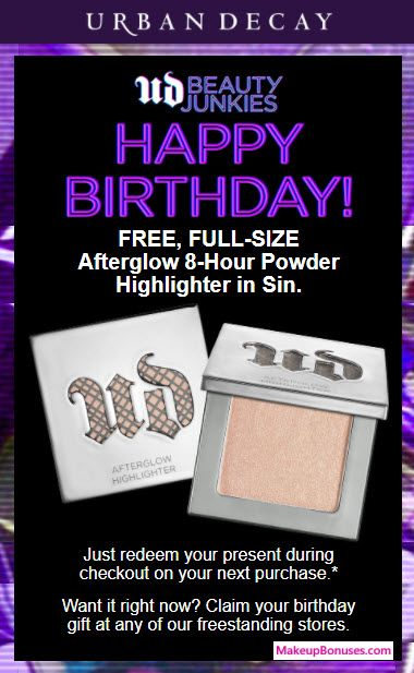 Pin On Free Beauty Birthday Gift Offers