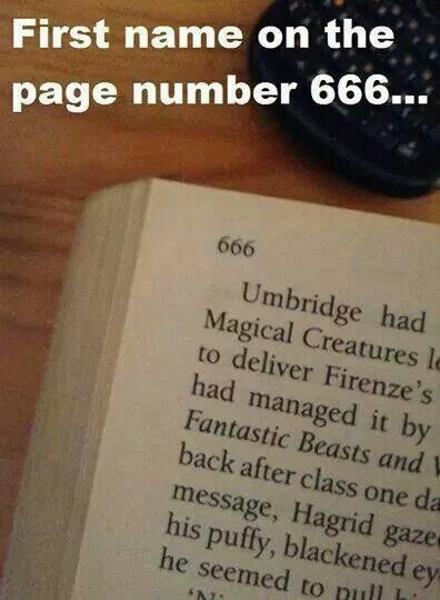 First Name On The Page Number 666 Harry Potter Jokes Harry Potter Puns Harry Potter Memes Hilarious