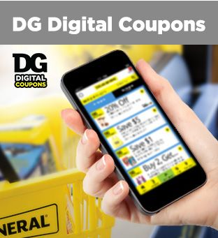 Sign Up Or Sign In For Dg Digital Coupons At Dollargeneral Com Dg Digital Coupons Digital Coupons Dollar General