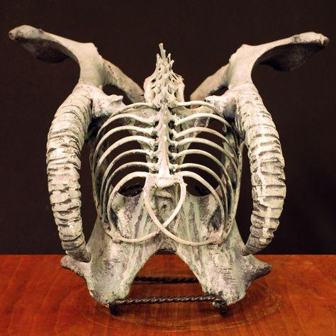 Viking burial mask