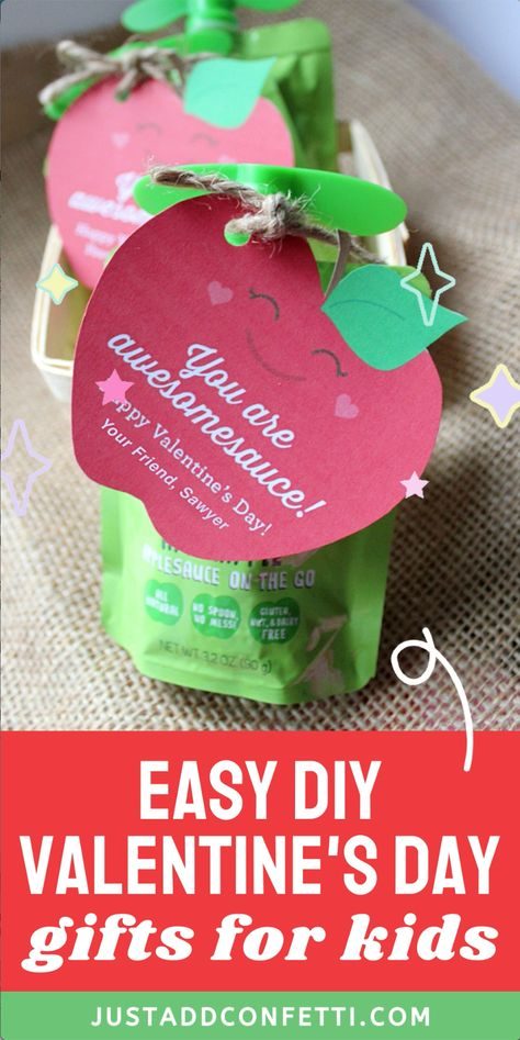 Easy DIY Valentine's Day Gifts for Kids