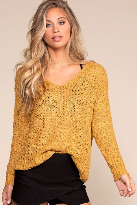 7a2233862b The Here And Now Sweater is perfect for fall! It s cozy