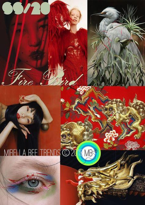 FASHION VIGNETTE: TREND | MIRELLA BRUNO - FIRE BIRD . SS 2020  #bird #bruno #Fashion #FIRE #mirella #SS #Trend #vignette