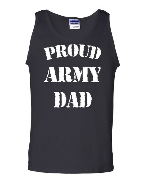 Proud Army Dad Hooded Sweatshirt in Sport Gray