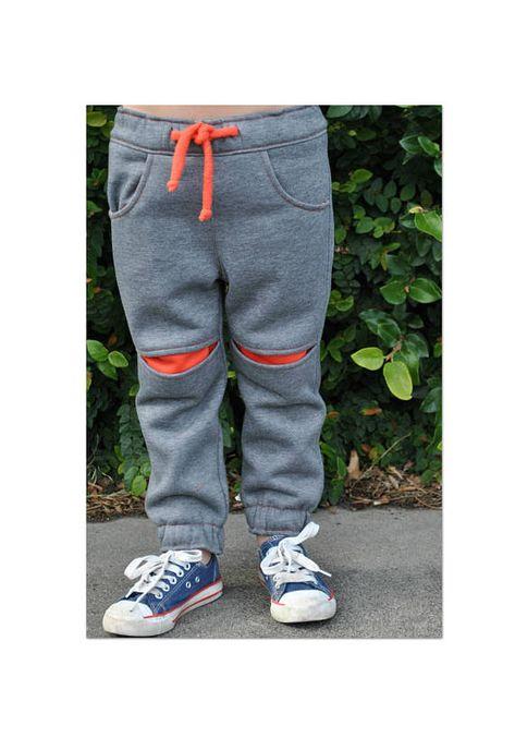 Boys fleece pants sewing pattern Roscoe Pants kids pdf sewing pattern, boys pants pattern sizes 2 to 12 years.