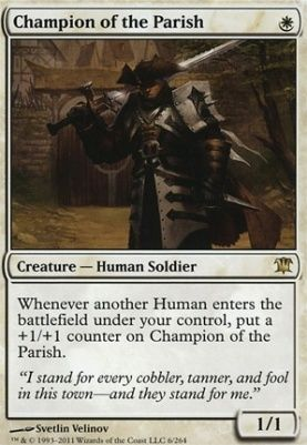Mtg Modern Card Prices Innistrad Champion Of The Parish Magic The Gathering Cards The Gathering Magic The Gathering
