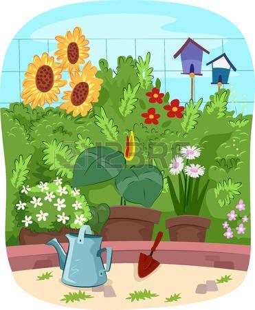 Gartenarbeit Clipart 9 Clipart Station Garden Clipart Jardin Clip Garten Illustration Flowers Gartenarb Flower Illustration Garden Clipart Colorful Flowers