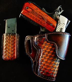 1911 holsters, best concealed carry holster maker, tooled