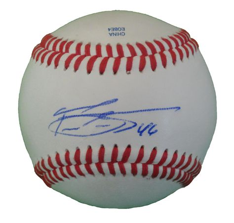 Baltimore Orioles Pedro Strop signed Rawlings ROLB leather Baseball w/ proof photo.  Proof photo of Pedro signing will be included with your purchase along with a COA issued from Southwestconnection-Memorabilia, guaranteeing the item to pass authentication services from PSA/DNA or JSA. Free USPS shipping. www.AutographedwithProof.com is your one stop for autographed collectibles from Baltimore sports teams. Check back with us often, as we are always obtaining new items.