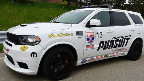 New Dodge Durango Srt Pursuit With 797 Horsepower Hellcat Redeye