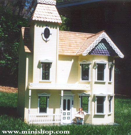 miniature dollhouses | Lady Ashley Dollhouse by House That Jack Built