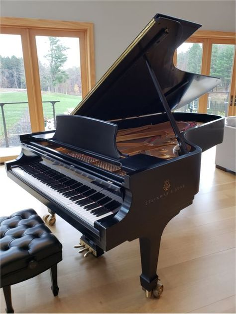 2010 Steinway and Sons Concert Grand Piano for sale The Piano, Best Piano, Grand Piano Room, Steinway Grand Piano, Homemade Musical Instruments, Piano For Sale, Baby Grand Pianos, Piano Music, Interior Modern
