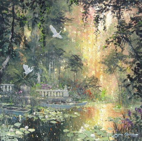 Fine Art and Custom Framing Classic Art, Art Painting, Nature Aesthetic, Renaissance Art, Painting, Ethereal Art, Pretty Art, Fairytale Art, Beautiful Art
