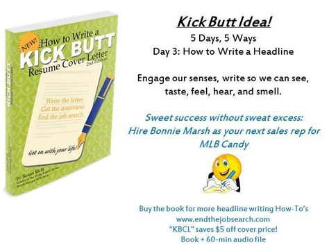 Day 3 How to write a headline for your kick-butt resume cover - how to write a resume headline
