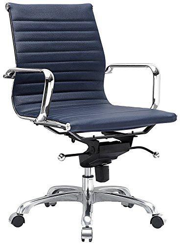 Meelano M344 Office Chair Navy Blue Desk Chair Office Chair Chair