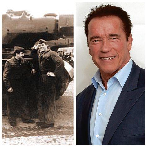 Arnold Schwarzenegger-Austrian Army 1965 (Actor, Governor of California)