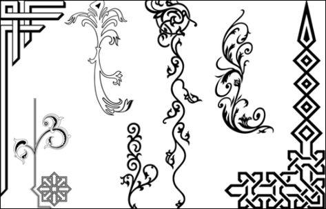 تطبيق زخرفة النصوص به مجموعة من التصاميم المميزة تستطيع مشاركتها في محادثاتك Photo Frame Crafts Interior Design Sketches Twitter Header Photos