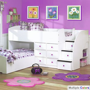 If I Have More Children Like This Idea The Bunk Beds Don T Seem As High And There Is A Solid Side To Keep One On Top Safe