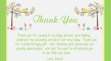 Baby Shower Thank You Speech Sample With Images Baby Shower