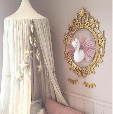 Ballerina Swan Wall Mount | Plush Soft Toy | Baby Nursery Decor