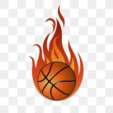 Burning Basketball With Fire Exaggeration Effect Material Clipart Basketball Basketball With Fire Basketball Png And Vector With Transparent Background For F In 2021 Fire Icons Blue Background Images Fire Vector