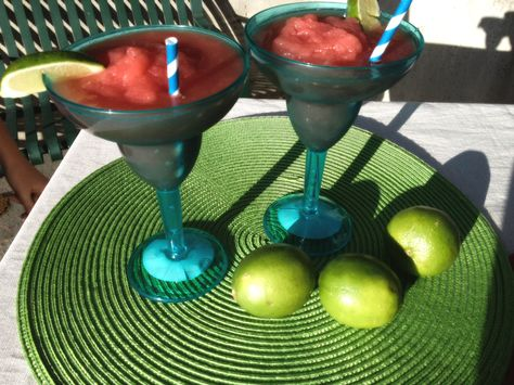Watermelon Slushie! Refreshing and low-cal treat for any summer party. Very quick and easy.