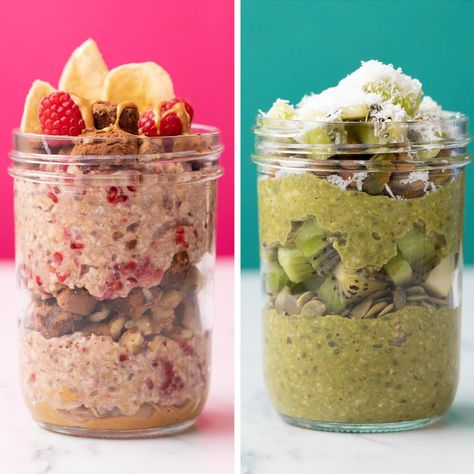 Picture-perfect parfaits! Made with new Planet Oat Unsweetened Oatmilk.
