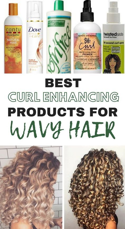 The 10 Best Curl Enhancing Products For Wavy Hair Natural Wavy
